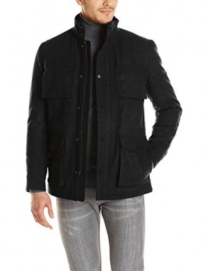 Ben-Sherman-Mens-4-Pocket-Melton-Coat-0