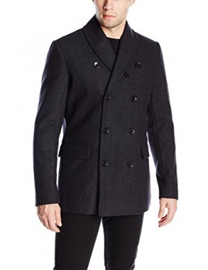 Ben-Sherman-Mens-Shawl-Collar-Pea-Coat-0