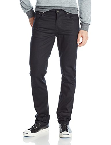 Nudie-Jeans-Mens-Grim-Tim-Straight-Slim-Fit-Jean-with-Stitches-0