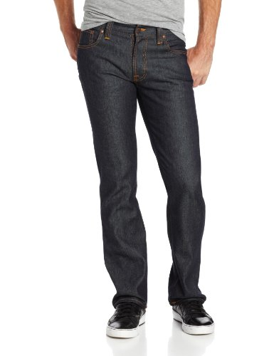 Nudie-Jeans-Mens-Slim-Jim-Jean-in-Dry-Broken-Twill-0