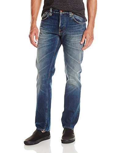 Nudie-Jeans-Mens-Steady-Eddie-Jean-In-Old-Sea-0