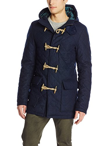 Scotch-Soda-Mens-Quilted-34-Duffle-Coat-0